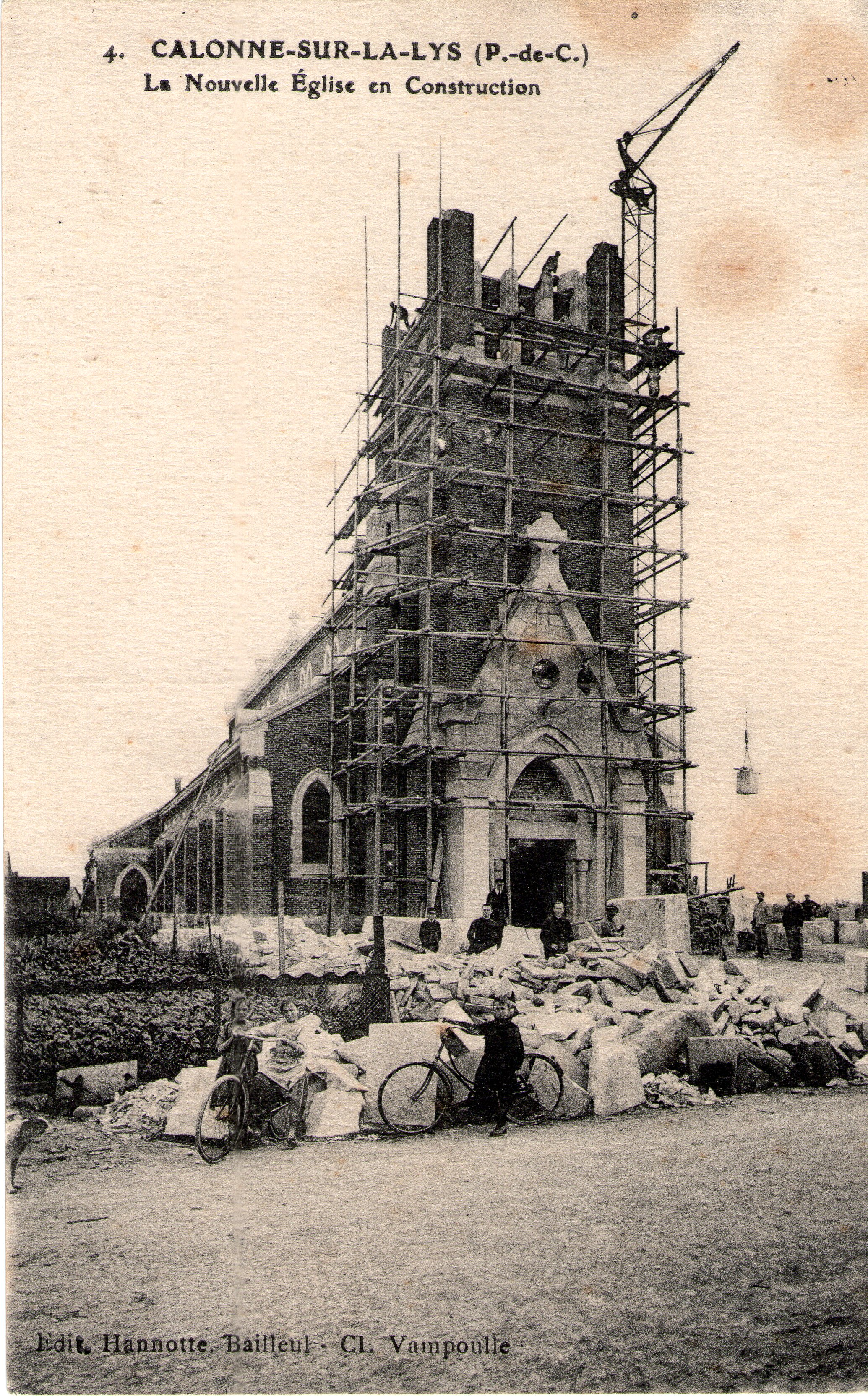 Reconstruction église